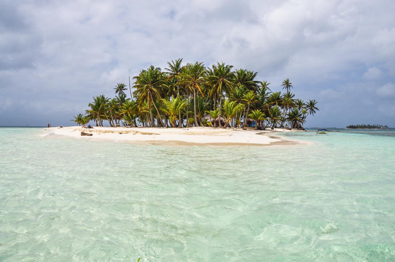 San Blas Islands deserted