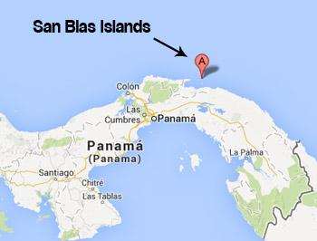 Panama Islands San Blas Weather